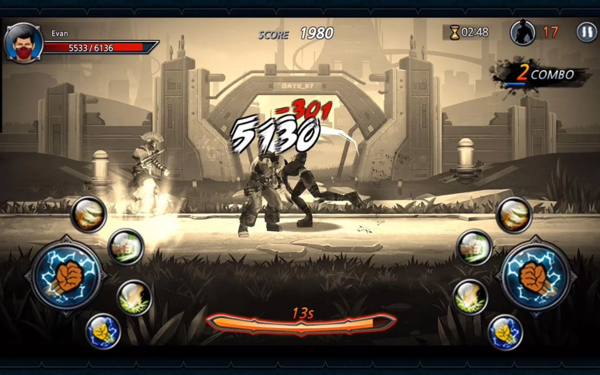 One Finger Death Punch 3D для Android