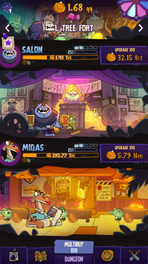 Dungeon, Inc. для Android