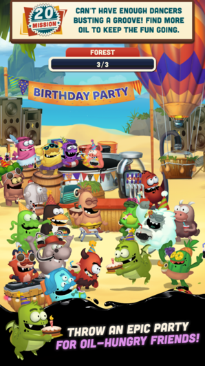 Oil Hunt 2 — Birthday Party для Android