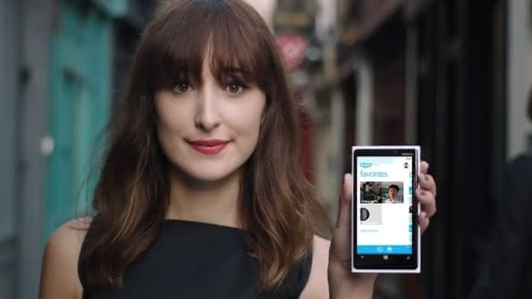 Skype на Windows Phone 8