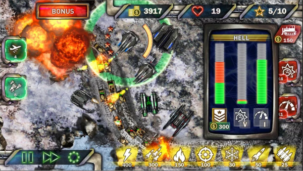 Tower Defense: Next WAR для Android