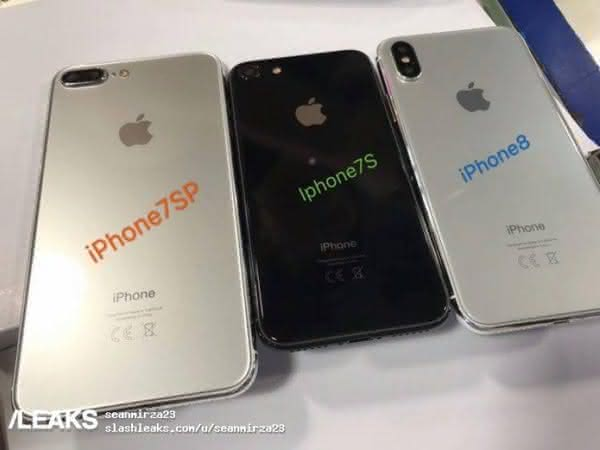iPhone 8, iPhone 7S и iPhone 7S Plus сравнили на фото и видео