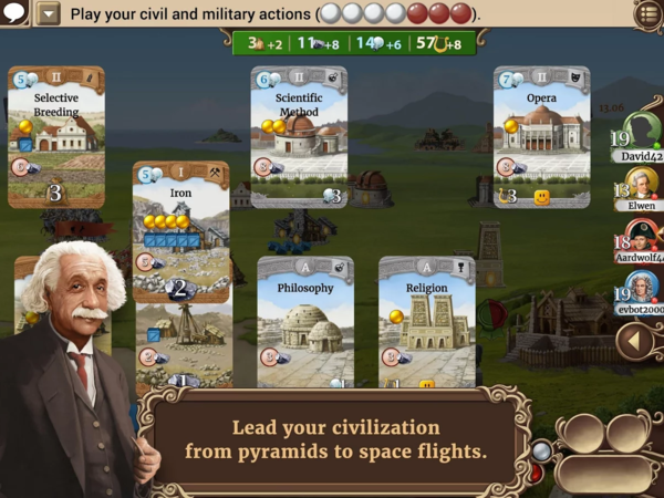 Through the Ages на Android