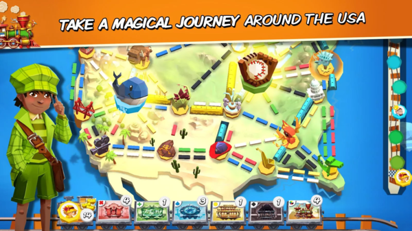 Ticket to Ride: First Journey для Android