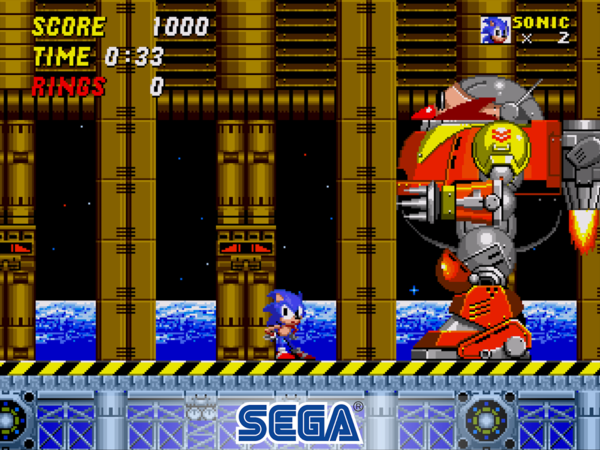 Sonic The Hedgehog 2 Classic для Android