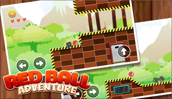 New Red Ball Adventure для Android