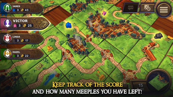 Carcassonne: Official Board Game для Android