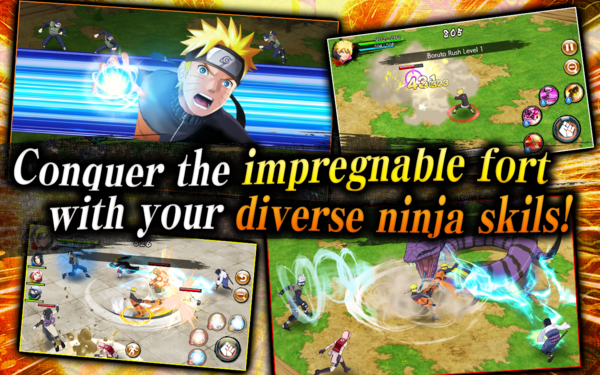 NARUTO X BORUTO NINJA VOLTAGE для Android