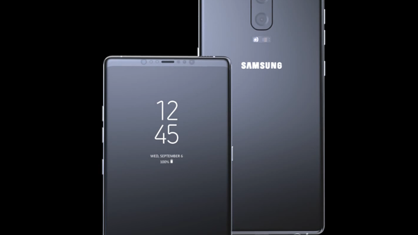 Реалистичный концепт Samsung Galaxy Note8