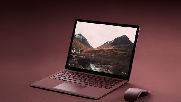 Анонс Microsoft Surface Laptop на Windows 10 S