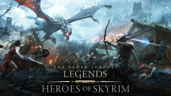 Карточная The Elder Scrolls: Legends — Heroes of Skyrim для Android и iOS