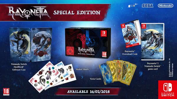 Набор Bayonetta 2 для Nintendo Switch Special Edition