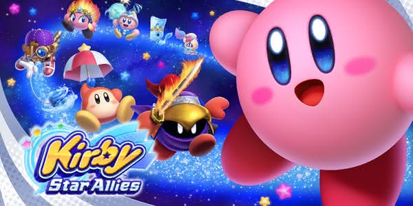 Постер Kirby Star Allies