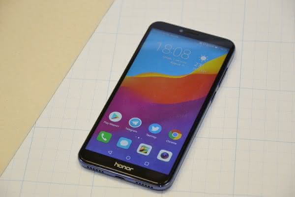 Overview Honor 7C: when you do not want to overpay