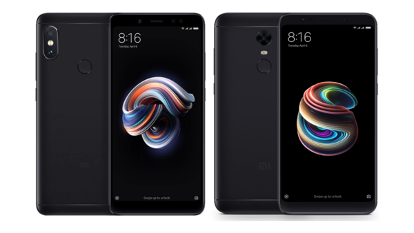 Сравнение Xiaomi Redmi 5 Plus/Redmi Note 5 и Redmi Note 5 Pro