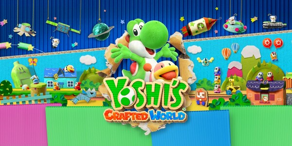 Постер Yoshi's Crafted World